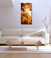 scarface pictures, modern art, canvas photo print, fine art giclee, cityscape art