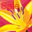lillies canvas wall art, flower abstract art, floral on canvas, flower canvas, art print floral