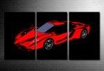 Ferrari Canvas Wall Art, Ferrari Art print, Ferrari Canvas Print