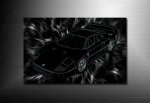 Ferrari wall art, 3d canvas art print, 3d canvas art
