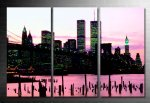 Cityscape Wall Art, New York City Canvas