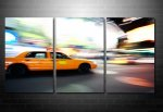New York Taxi print, New York Taxi canvas art