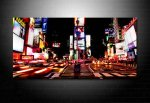 times square canvas art, times square print