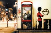 banksy art anarchist guard, banksy canvas art print, banksy canvas poster, banksy art prints uk, banksy photo