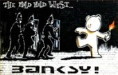 mild mild west canvas, banksy canvas art print, banksy canvas print, mild mild west banksy, banksy prints uk