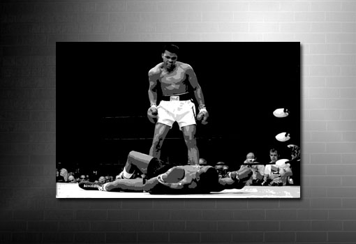Muhammad Ali Canvas Art, Boxing Canvas Prints, Muhammad Ali Wall Art, Boxing Canvas
