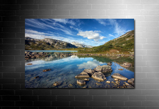 digital landscape art, landscape canvas picture