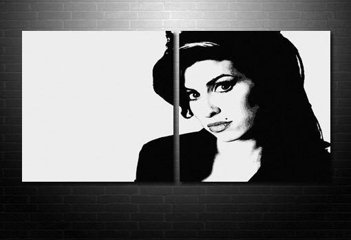 amy winehouse wall art, amy winehouse print, amy winehouse pop art canvas, canvas art uk