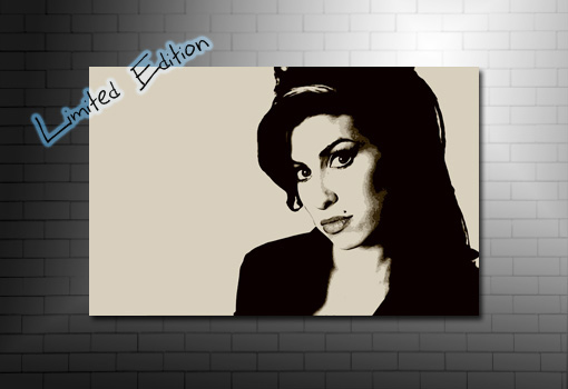 amy winehouse canvas, amy winehouse print, amy winehouse pop art canvas, canvas art prints uk