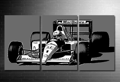 Ayrton Senna Canvas Print, Formula 1 Canvas Art, f1 canvas print