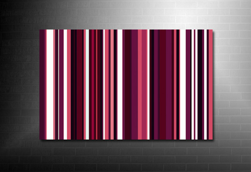 Paul Smith canvas, Retro Stripes Canvas, Pop Art Prints, modern retro canvas art, retro wall art