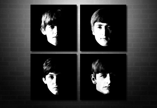 Beatles canvas print, Beatles canvas art, Beatles canvas artwork, Beatles wall art, Beatles pop art