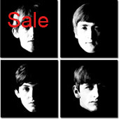 the beatles canvas art print, john lennon canvas, the beatles canvas, canvas art
