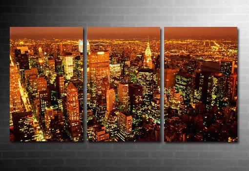 New York Skyline Canvas, New York Canvas