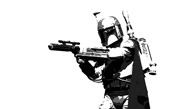 star wars movie canvas, boba fett wall art, boba fett canvas, movie wall art, starwars movie art, wall art uk