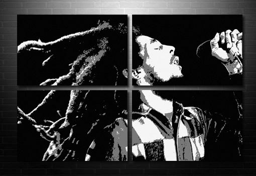 Bob Marley Canvas print, bob marley canvas, bob marley pop art, bob marley canvas artwork, Bob Marley print
