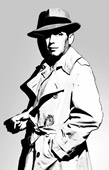 humphrey bogart movie art, humphrey movie canvas, humphrey bogart canvas, wall art uk