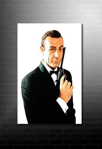 James Bond Canvas Art, james bond wall art, james bond print, james bond canvas, james bond pop art