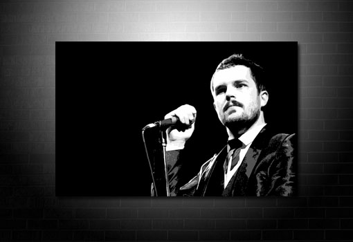 brandon flowers canvas, brandon flowers art print, brandon flowers print