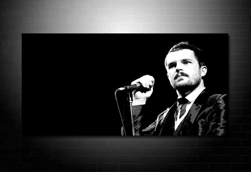 brandon flowers canvas art, brandon flowers wall art, music canvas art uk, brandon flowers canvas art uk, canvas art uk
