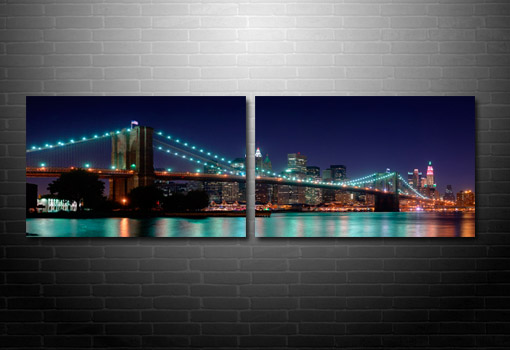 Brooklyn Bridge Canvas, New York Skyline Canvas