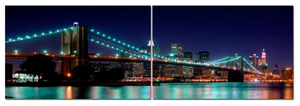 new york cityscape canvas, new york wall art, new york canvas art print