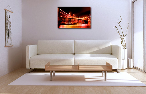 cityscape canvas print, new york city canvas art