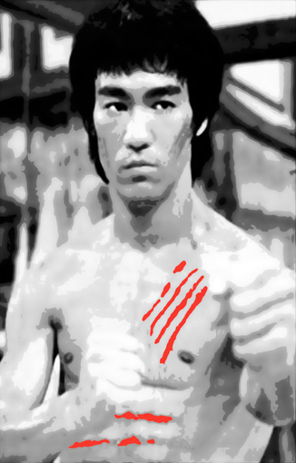 bruce lee canvas, bruce lee wall art