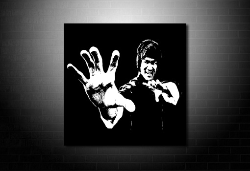 Bruce Lee Canvas Art, bruce lee wall art, bruce lee movie art, bruce lee print, bruce lee canvas art print