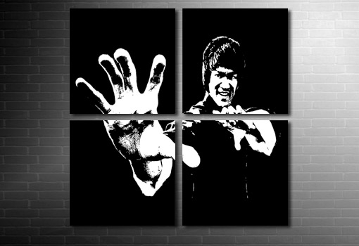 Bruce Lee wall art, bruce lee wall art, bruce lee movie art, bruce lee print, bruce lee movie canvas
