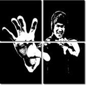 bruce lee wall art, bruce lee canvas print, bruce lee movie art, cheap canvas art uk