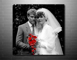 photo on canvas colour cut style, photo on canvas print modern