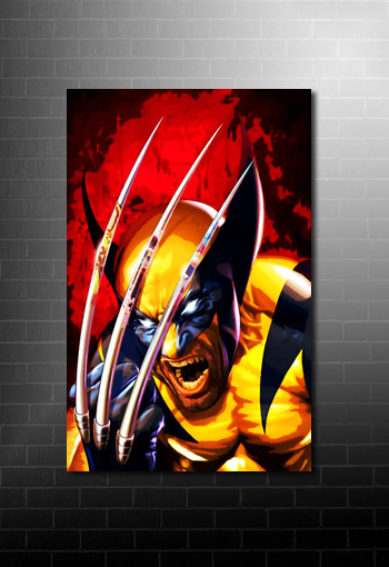Wolverine Canvas Print, wolverine movie art, x men canvas art, wolverine canvas, x men movie canvas