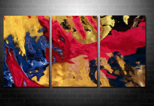abstract art contemporary print, modern abstract art