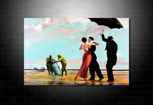 Crude Oil Banksy Canvas, crude oil canvas art, banksy graffiti art, banksy graffiti canvas, banksy art prints uk