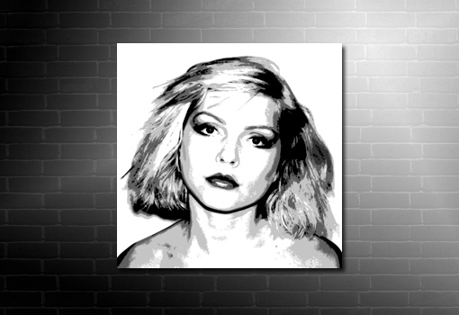 Debbie Harry Canvas, Blondie Canvas Art, Debbie Harry Wall Art, blondie canvas print