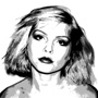 debbie harry canvas art print, blondie canvas art