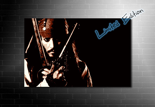 Johnny Depp Canvas Art, johnny depp movie print, johnny depp canvas print, johnny depp art, johnny depp wall art