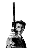 dirty harry movie art, clint eastwood pop art, dirty harry framed print, dirty harry on canvas, movie art uk