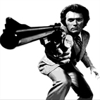 clint eastwood canvas, dirty harry canvas art print, clint eastwood canvas prints, dirty harry wall art, clint eastwood pop art