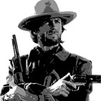 clint eastwood canvas, clint eastwood movie art, clint eastwood canvas art print, cheap canvas art uk