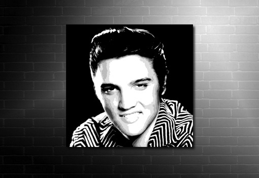 elvis presley canvas art, music canvas art prints, elvis pop art, elvis framed print, elvis wall art