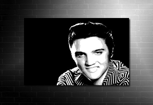 elvis presley canvas, elvis canvas print, elvis fan art, elvis movie print, music canvas pictures