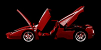 Ferrari wall art, ferrari photo canvas art, ferrari canvas art