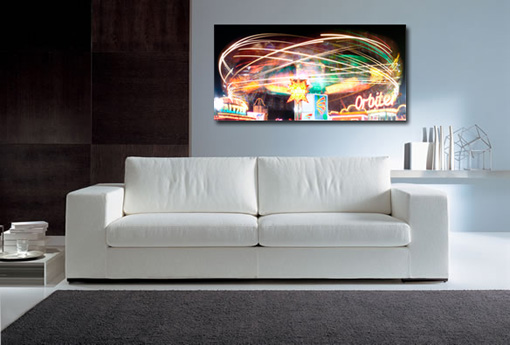 Cityscape canvas prints, abstract cityscape