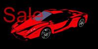 Ferrari Enzo Canvas Art, Ferrari Enzo Art, Ferrari Wall Art