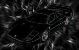 Ferrari F40 Canvas, super cars canvas, 3d canvas print