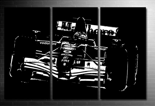 Ferrari F1 Canvas Art, Ferrari F1 Wall Art, Ferrari Canvas Art Print