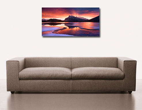 seascape art print, landscape wall art, canvas art, canvas giclee art prints