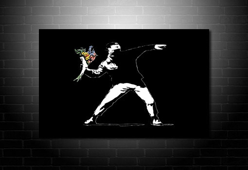 Graffiti Art canvas art, banksy graffiti art, cheap banksy art uk, banksy canvas prints, banksy canvas picture